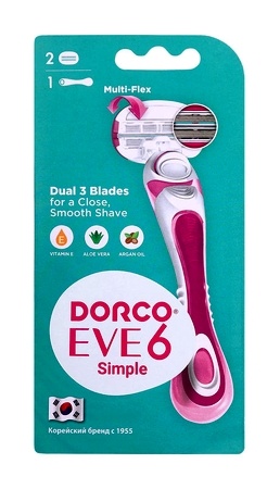Dorco Eve 6 Simple 3