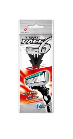 Dorco Pace 6 Blade Disposable