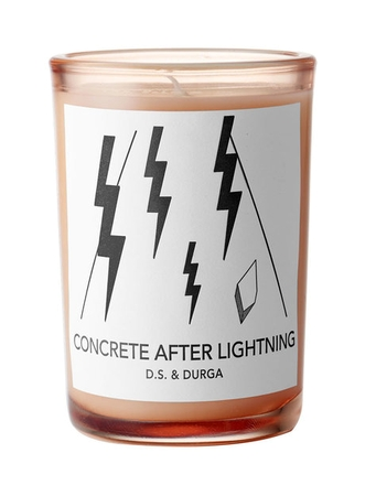 DS&Durga Concrete After Lightning candle