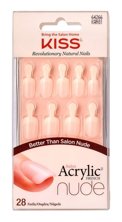 Kiss Salon Acrylic Nude Nails