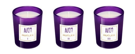 Mugler Alien Mini Candle Set